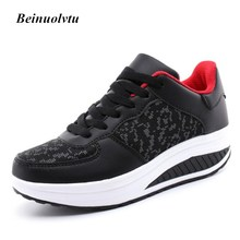 Quality Female Running shoes women sneakers shoes Height Increasing Platform Sneakers Boots Sport shoes