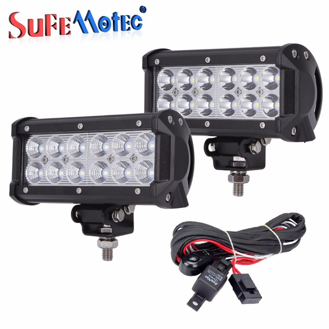 2pcs 12pcs3w 36w led light bar for off road truck suv 4wd 4x4 2pcs 12pcs3w 36w led light bar for off road truck suv 4wd 4x4 driving aloadofball Choice Image