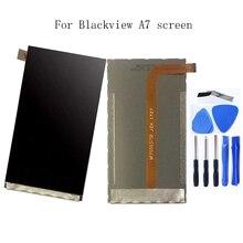 100% テスト液晶モニター Blackview A7/A7 プロ LCD スクリーン blackview A7 携帯電話の液晶画面 + 送料無料
