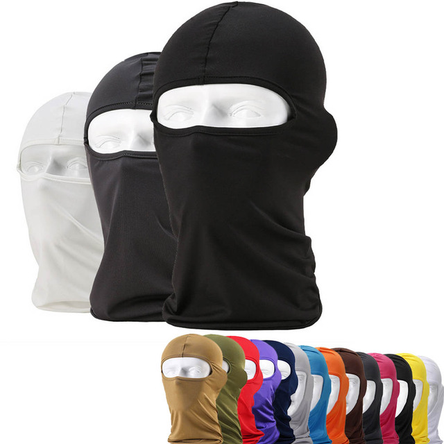 Cycling Face Mask MTB Mountain Bike Bicycle Ski Neck Protecting mask Outdoor Balaclava Full Face Masks for cycling Accessories