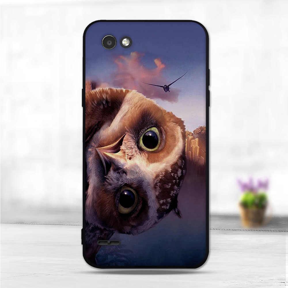 """5.5 """"حالة ل كابا LG Q6 حالة غطاء لينة TPU ل LG Q6 ألفا M700/Q6 زائد X600 الهاتف الخلفي حالة وقائية ل كوكه LG Q6A"""