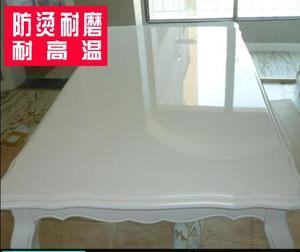Image 1 - Film adhésif Transparent pour meubles, film de protection en bois massif, pour table de cuisson, autocollants pour table et table