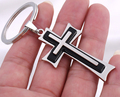 Cross KeyChain - Fashion Hot Creative metal Key chain Car KeyChain Key Ring Christian pendant For Man Women Gift wholesale 17226