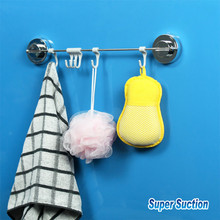 Dehub Suction Cup Kitchen Organizer Cooking Tool Rack Utensils Spoon Hanger Ladle Spatula Hook For