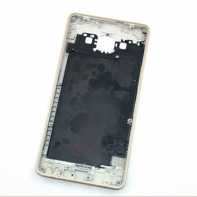 1 Шт. Белое Золото Корпус Батареи Задней Стороны Обложки Дверь С ближний Рамка Для Samsung Galaxy A5 A5000 Мобильный Телефон Бесплатная Доставка