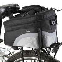 B SOUL Waterproof Cycling Bicycle Bag Bike Rear Seat Trunk Bag Handbag Bike Panniers Mountain Bike Outdoor Accessories