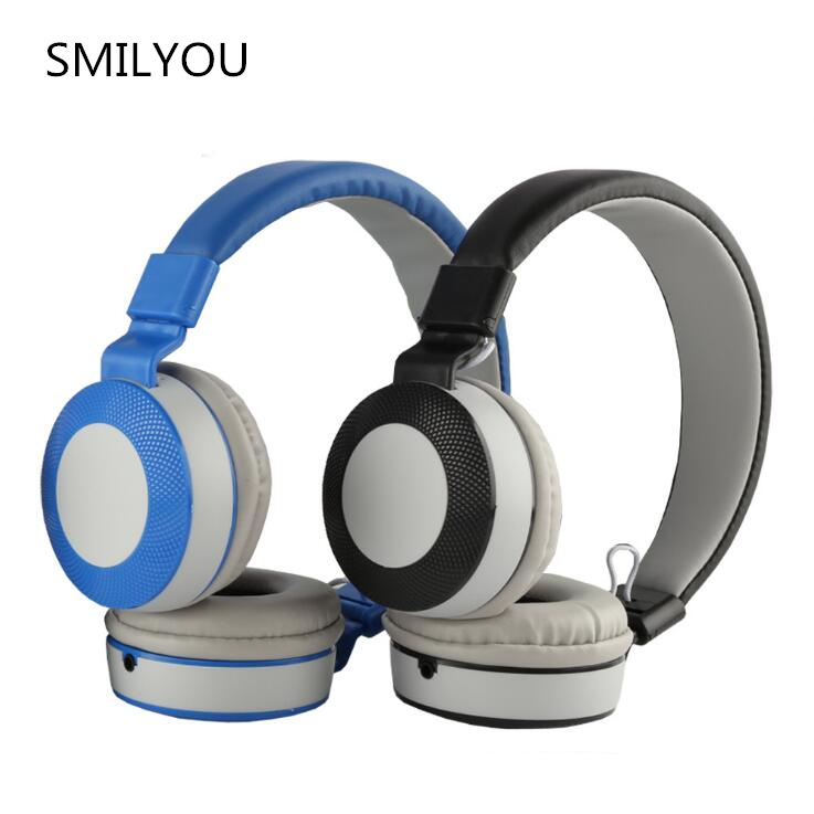 smilyou wholesale TV5 fashion Foldable headphones Gaming Headset Earphone with For PC Laptop Computer Phone MP3 MP4 music