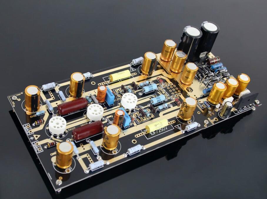 Haute qualité MM RIAA platines Ear834 Tube Phono amplificateur bricolage Kits 12AX7/ECC83 pour Audio