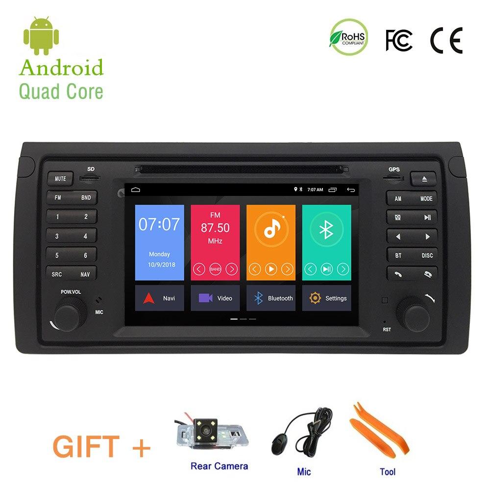 Lecteur DVD de voiture pour BMW E53 X5 M5, Android 9.1 GPS Navigation stéréo IPS écran voiture unité de tête lecteur multimédia