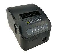 30PCS High quality pos printer 80mm thermal bill receipt Small ticket barcode printer automatic cutting machine printer