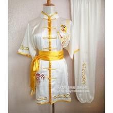 Customize Chinese wushu uniform Kungfu clothing Martial arts suit taolu clothes taichi outfit for men women child girl boy kids