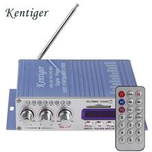 HY502 Amplificador de Potencia Estéreo de Sonido Hi-Fi Mini Digital de La Motocicleta Auto Del Coche modo de Audio Reproductor de Música Soporte de MP3 USB DVD CD FM SD