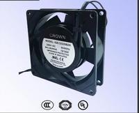 Taiwan CROWN IGE8038 Mini Fan Double Ball UL Certification 220V Motor Cooling Fan