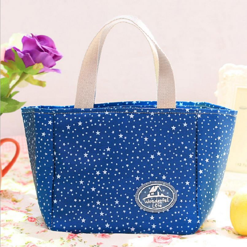 2018Portable Insulated Thermal Cooler font b Lunch b font Box Carry Tote Picnic Case Storage font