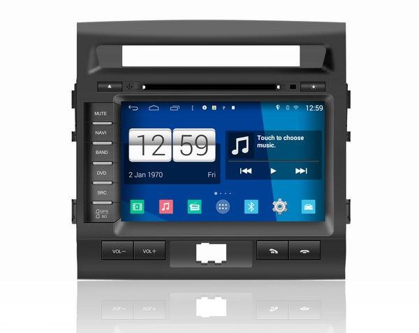 WINCA S160 Android4.4.4 COCHES reproductor de DVD PARA TOYOTA LANDER CRUISER 200 audio segunda mano  Se entrega en toda España