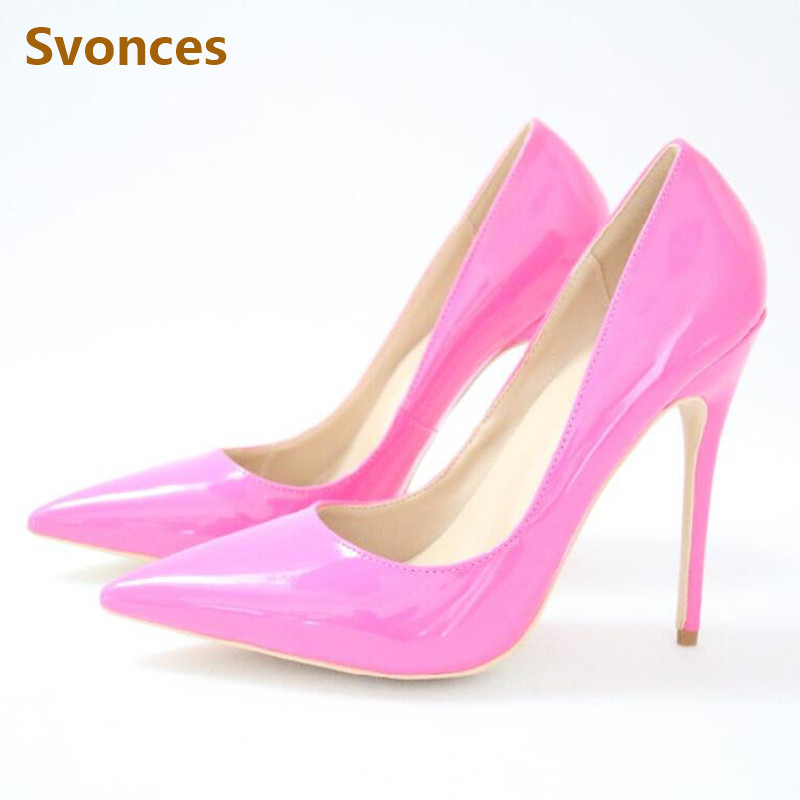 Fashion Office Lady Pumps Woman Shoes Pink Patent Leather Party Wedding  Shoe High Heel Brand Sexy. US  32.99. Gladiator Fashion Women Sandals  Luxury Red ... 83c4e6d08816