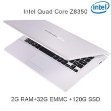 "P5-03 white 2G RAM 32G EMMC 128G Intel Atom Z8350 11.6 Windows10 HDMI WIFI System Laptop bluetooth computer notebook USB3.0"""