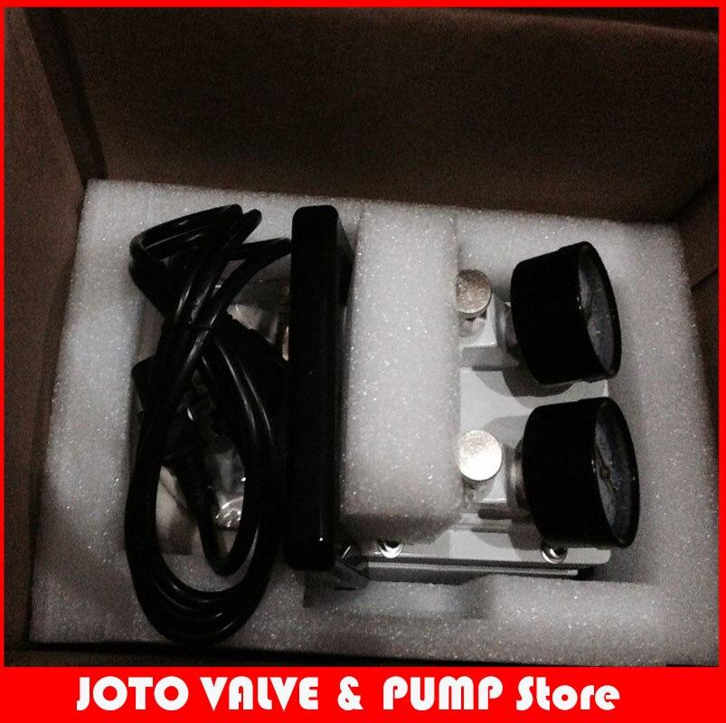 110V OR 220V  LH-85 Oil Free Diaphragm Vacuum Pump Lab Use Vacuum Pump manka care 110v 220v ac 50l min 165w small electric piston vacuum pump silent pumps oil less oil free compressing pump