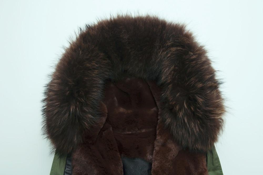 Элегантная Высококачественная Черная подкладка с капюшоном длинная куртка для мужчин/женщин парка из искусственного меха пальто