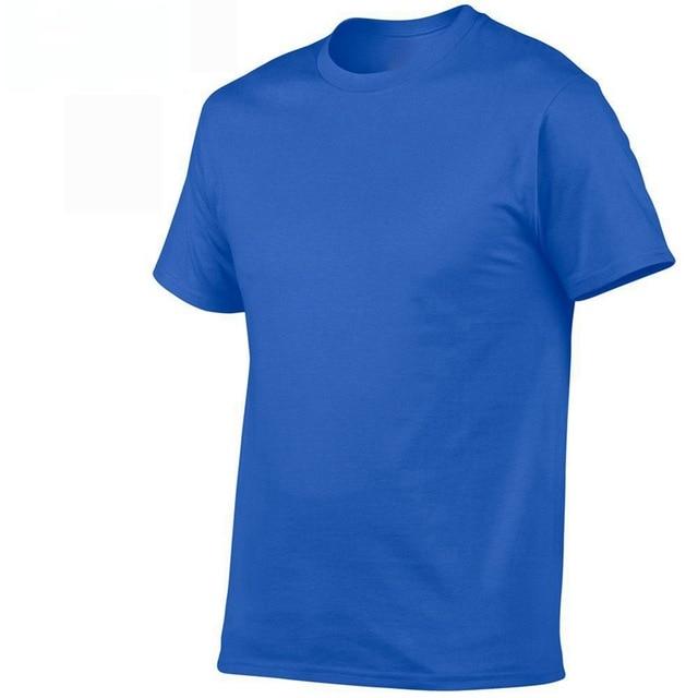 2019 summer New High quality men   T     shirt   casual short sleeve o-neck 100% cotton   t  -  shirt   men brand white black tee   shirt