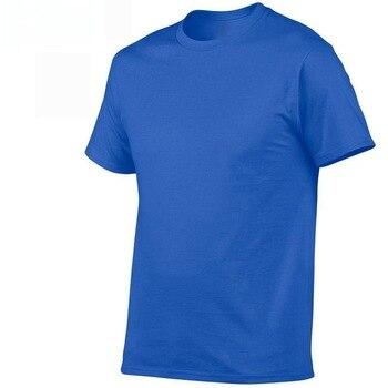 2019 summer New High quality men T shirt casual short sleeve o-neck 100% cotton t-shirt men brand white black tee shirt