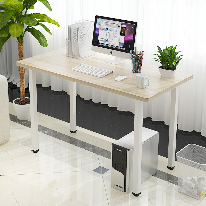 Fashion Simple Multifunctional Desktop Computer Desk Stable Bearing Laptop Desk Home Office Table Study Wirting Desk