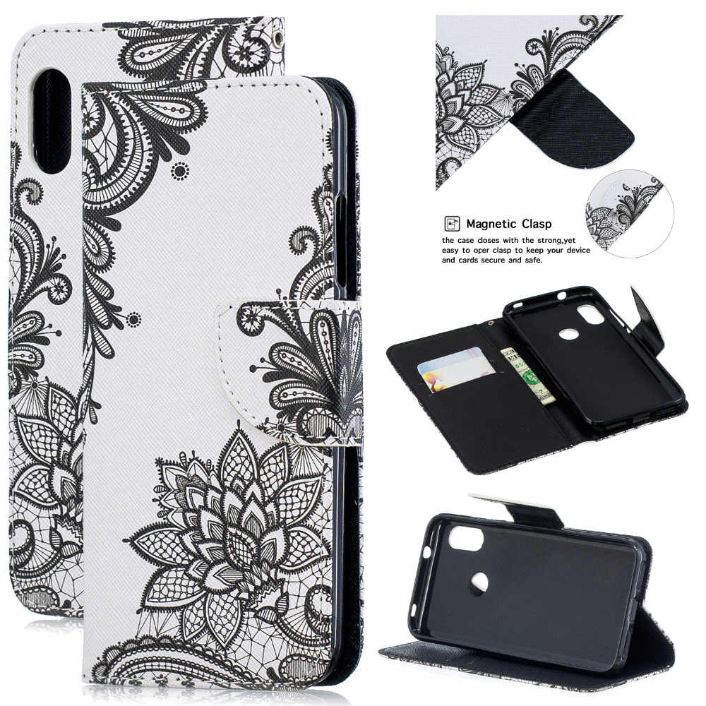 3D PU Leather Flip Case For Xiaomi Mi 8 A1 A2 Lite 360 Protection Magnetic Stand Coque For Redmi Note 5 6 Pro 6A 6 Wallet Cover