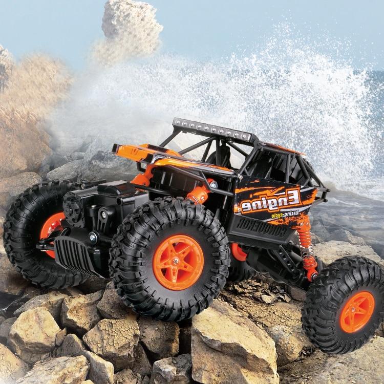 WLToys कार 1:18 पर्वतारोही कार 2.4G - रिमोट कंट्रोल के साथ खिलौने