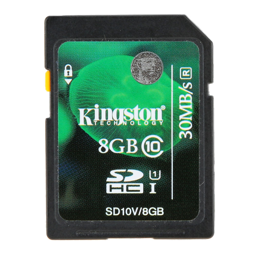 Kingston Digital карты памяти SD 8 ГБ 16 ГБ 32 ГБ 64 ГБ 128 ГБ SD карты SDHC SDXC UHS-I HD Video Class 10 SD карты 45 м/с для мобильного телефона