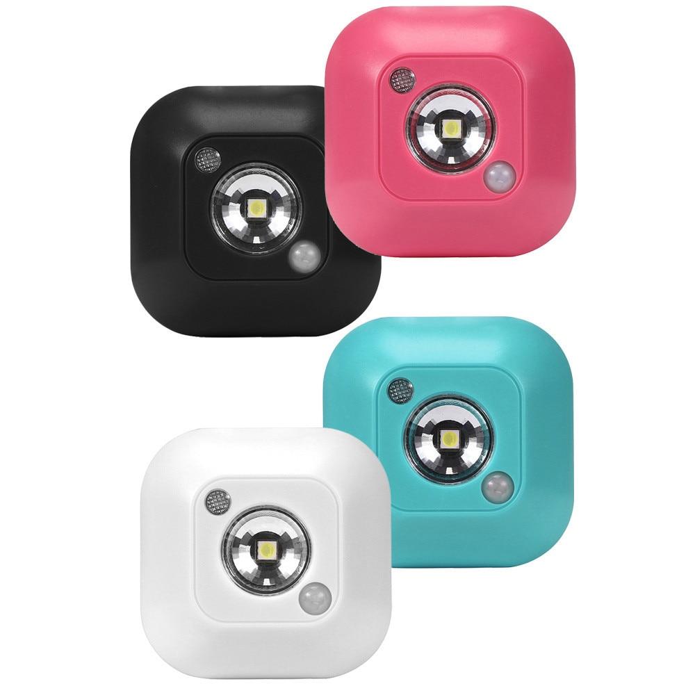Mini Led Wireless Night Light Motion Sensor Lights Wall