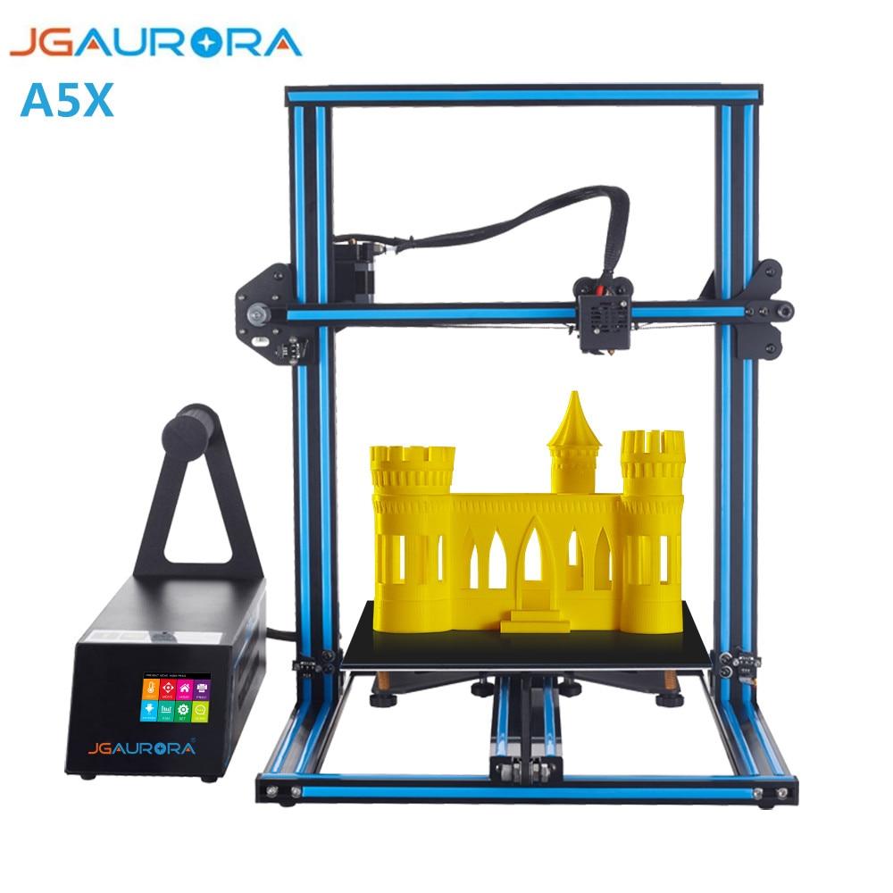 Büroelektronik 3d-drucker Und 3d-scanner Jgaurora A5s 3d Drucker Top Qualität Desktop Printing Maschine Mit Touchscreen Große Bauen Größe 305*305*320mm