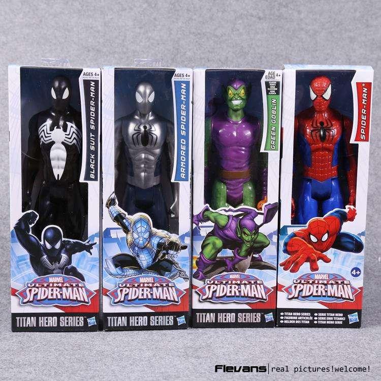 The Avengers Superheld Spiderman Captain America Action Figur Figuren Spielzeug