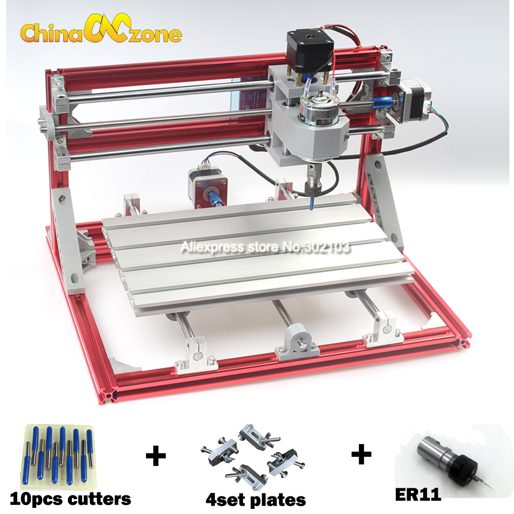 CNC 3018 CNC Engraving Machine ER11 Diy Mini 3Axis ,Laser Engraving Machine,Pcb PVC Milling Machine,Wood Router,Best Advanced