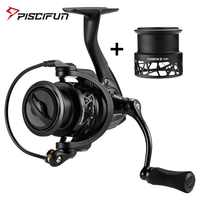 Piscifun Carbon X Spinning Reel Extra Spare Spool 5.2:1 6.2:1 Gear Ratio Light to 162g Carbon Frame Rotor 11 BB Fishing Reel