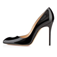 Amourplato Women Handmade Fashion Aorneille 100MM Formal Office Party High Heel Pumps Shoes