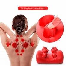 Shiatsu Massage Relaxation Spinal Neck Back Cervical Massager Shoulder Soothing Rest Health Pillow Pad