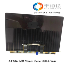 Wholesale Original new Laptop A1706 LCD Screen 13″ For MacBook Pro A1706 LCD Screen Panel (screen only) 2016 Year Fully Tested