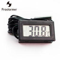 50 110C Digital LCD Pointer Thermometer Car Water Fish Tank Temperature Meter Gauge For Computer
