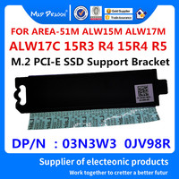 MAD DRAGON Brand M.2 PCI E SSD Support Bracket Adapter Heatsink For ALIENWARE AREA 51M ALW15M ALW17M M15 M17 03N3W3 3N3W3 0JV98R