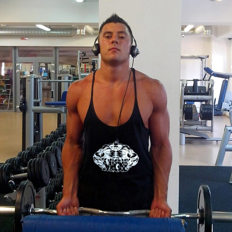 62d905c23 اللياقة البدنية الرجال كمال الاجسام تانك الأعلى للرجال سترة الغوغاء ZYZZ  سترينجر القميص Regata الغمد قميص العضلات قميص