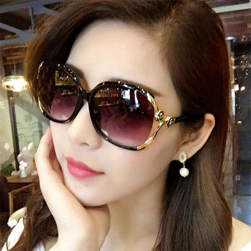 GUANGDU 2019 New Top European And American Fashion  Models Flexible Sunglasses Woman's Lens Brand Designer Retro Glasses UV400