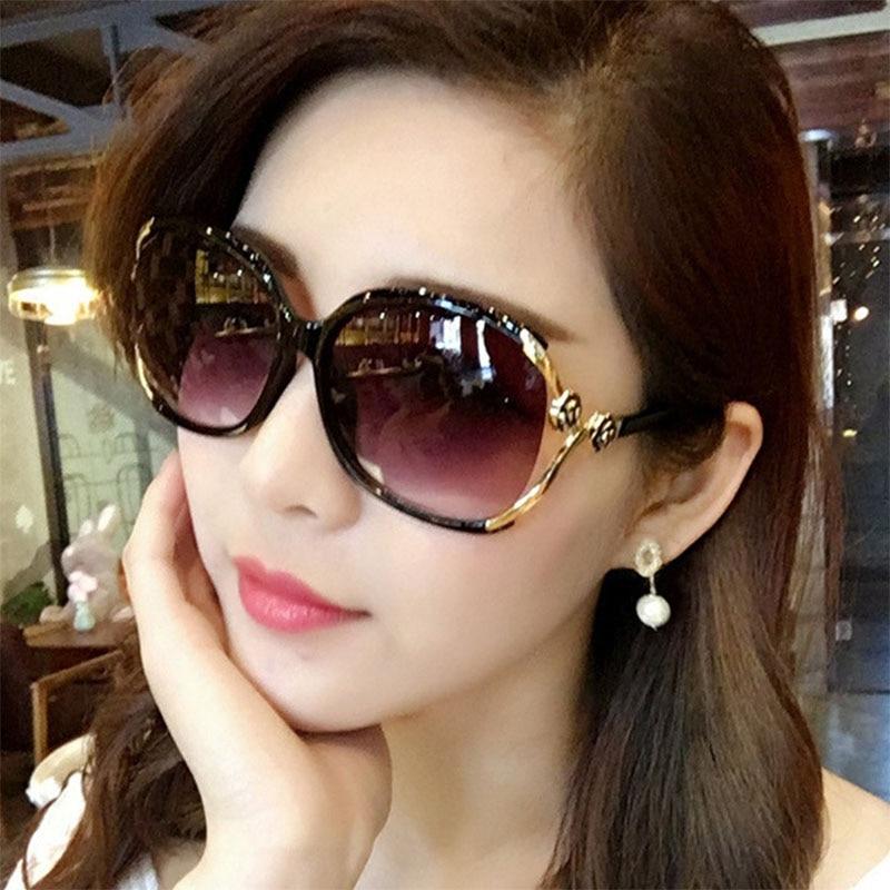GUANGDU 2019 New Top European And American Fashion  Models Flexible Sunglasses Woman's Lens Brand Designer Retro Glasses UV400