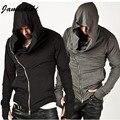 Jamickiki Brand Assassins Creed мужская Одежда Мужчины Assassin's Рукавом Уличная Толстовка Пальто Мужчины США Размер XXXL H07