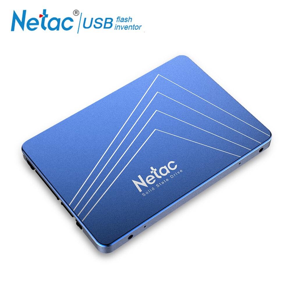 Netac N500S SSD Disque Dur SATA3 500 mb/s Interne Solid State Drive 2.5 ''Bleu SSD 240 gb 120 gb 480 gb 60 gb PC Portable Disque Dur
