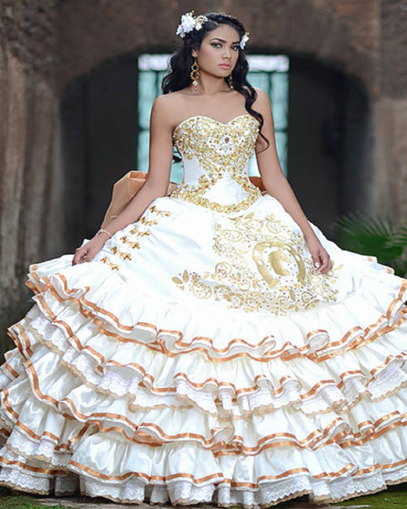 Popular White Quinceanera Dress-Buy Cheap White ...