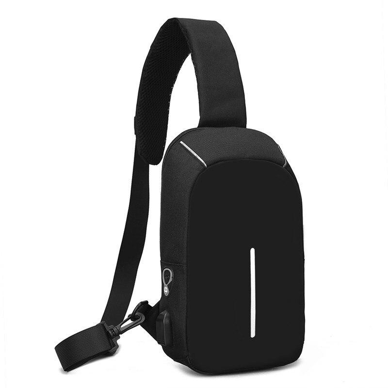 062318 newhotstacy unisex women men small chest bag man leisure messenger bag