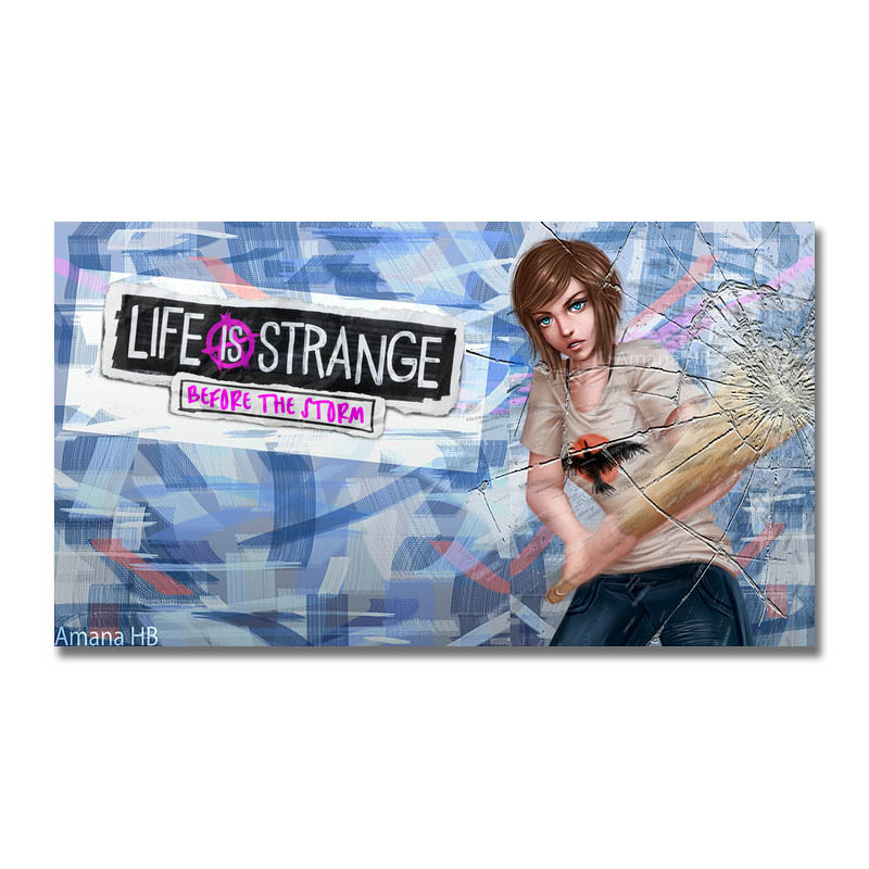 Life Is Strange Game Silk Poster 13x24 24x43 inches