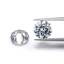 1pcs 5mm 0.5ct GH color Loose Moissanite Round Brilliant Cut Test Positive Lab Grown Diamond Gems Stones