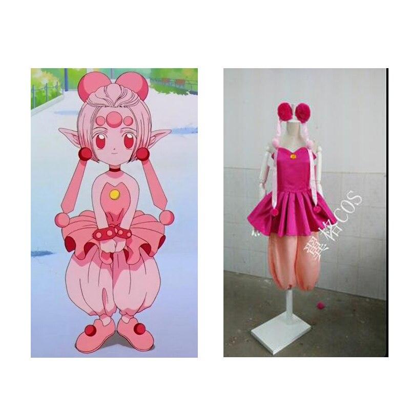2016 carte magique Sakura Cardcaptor le Costume de cosplay de puissance