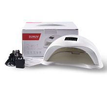 SUNUV SUN5 48W Professional UV LED Lamp Nail Dryer Polish Machine for Curing Nail Gel Art Tool with Buttom
